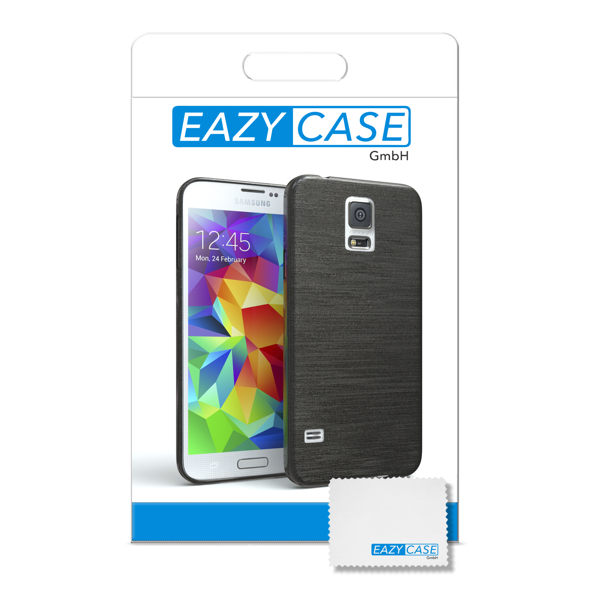 schutz h lle f r samsung galaxy s5 neo brushed cover handy. Black Bedroom Furniture Sets. Home Design Ideas