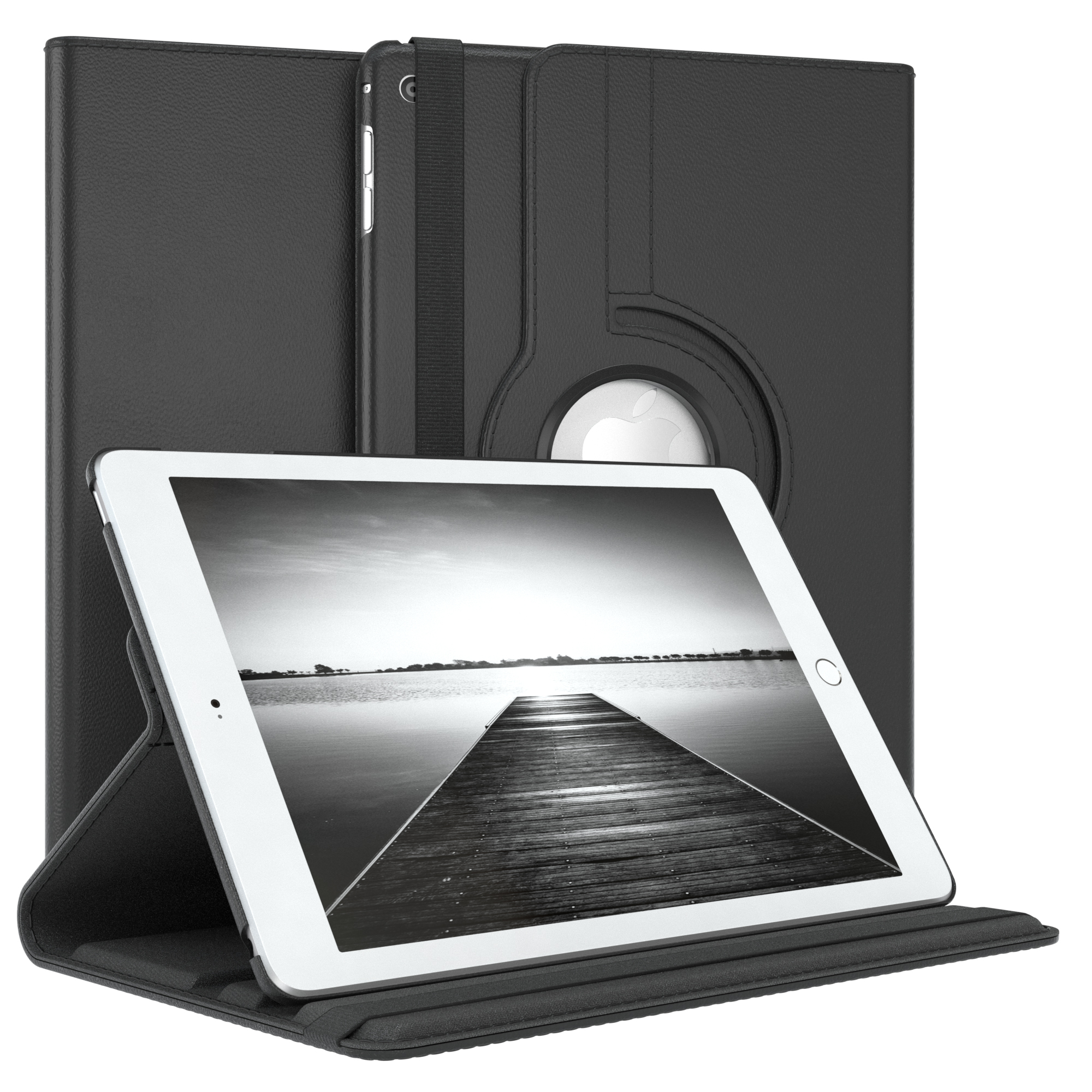 Tasche-fuer-Apple-iPad-Smart-Case-Schutz-Huelle-Etui-Tasche-Bumper-Flip-Cover-360 Indexbild 9
