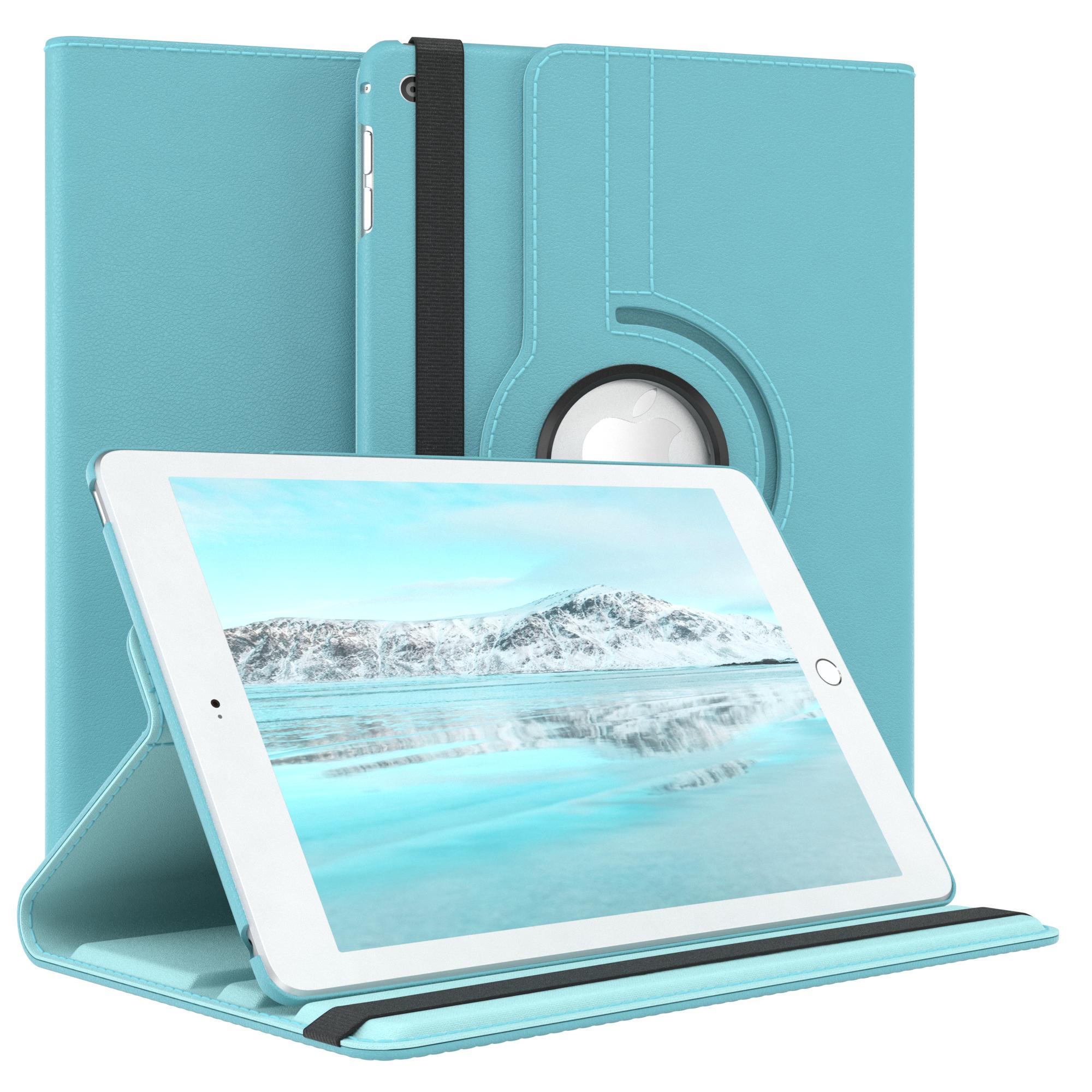 Tasche-fuer-Apple-iPad-Smart-Case-Schutz-Huelle-Etui-Tasche-Bumper-Flip-Cover-360 Indexbild 17