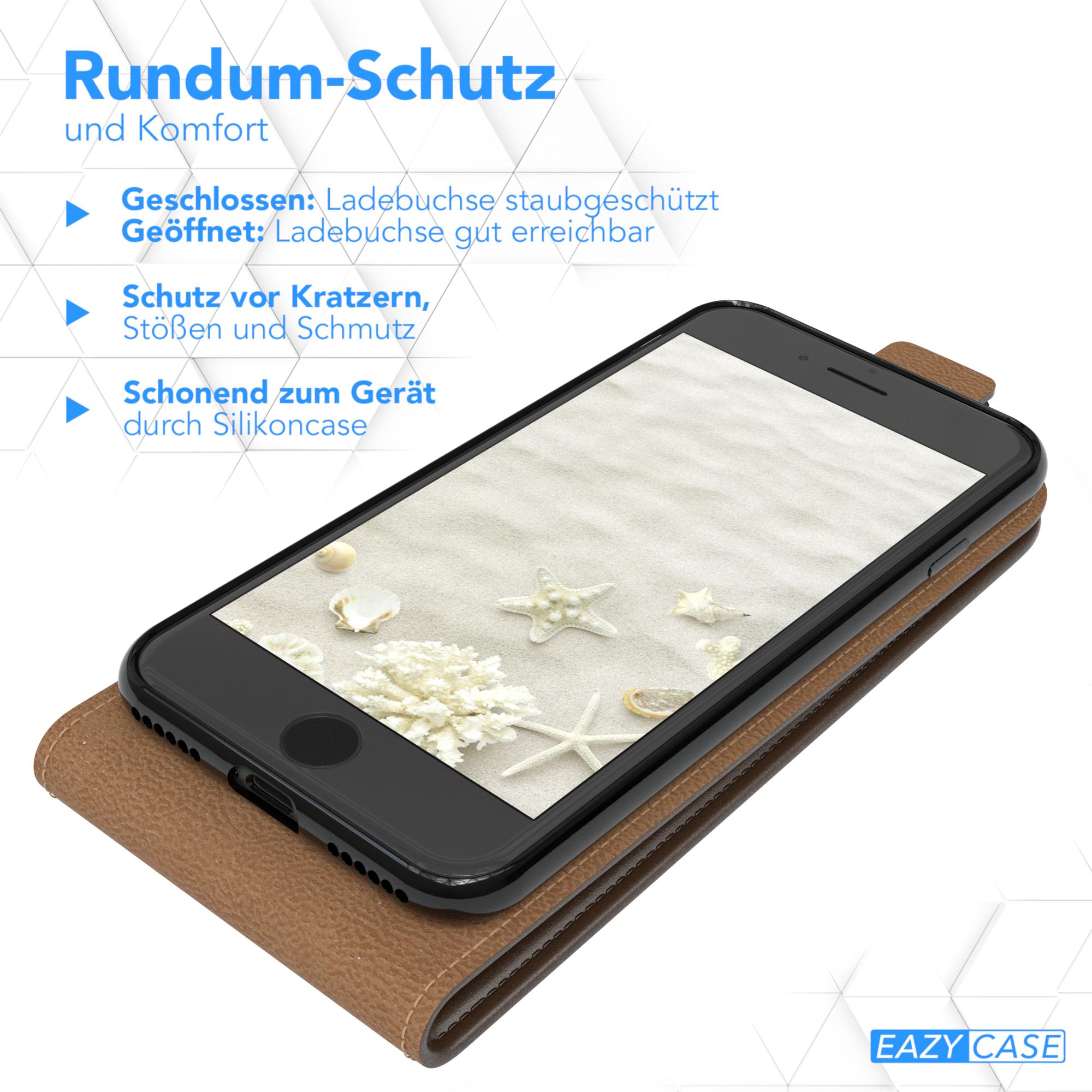 Handy-Tasche-fuer-Apple-iPhone-Flip-Case-Cover-Schutz-Huelle-Klapp-Etui-Bumper