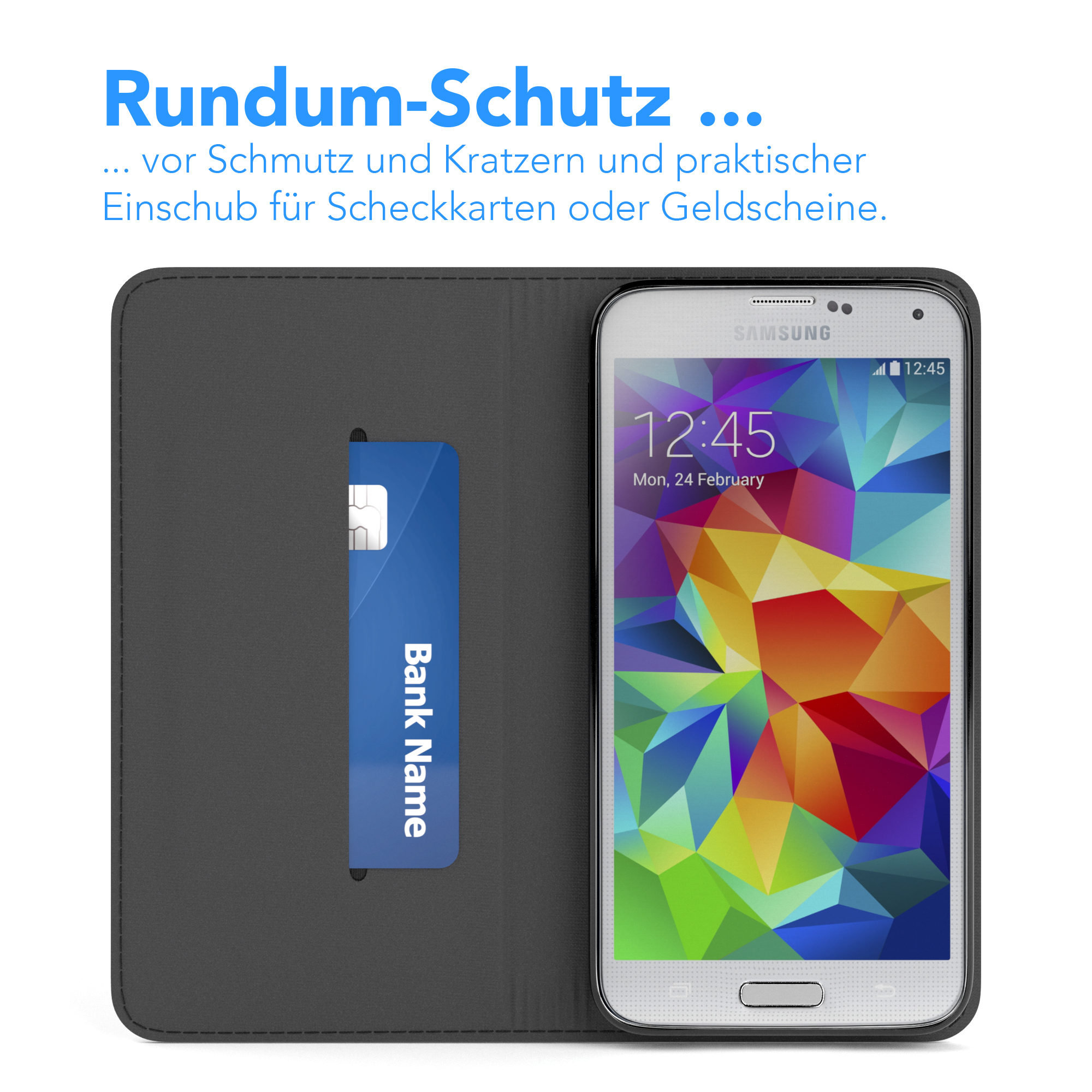 tasche f r samsung galaxy s5 neo cover handy schutz. Black Bedroom Furniture Sets. Home Design Ideas