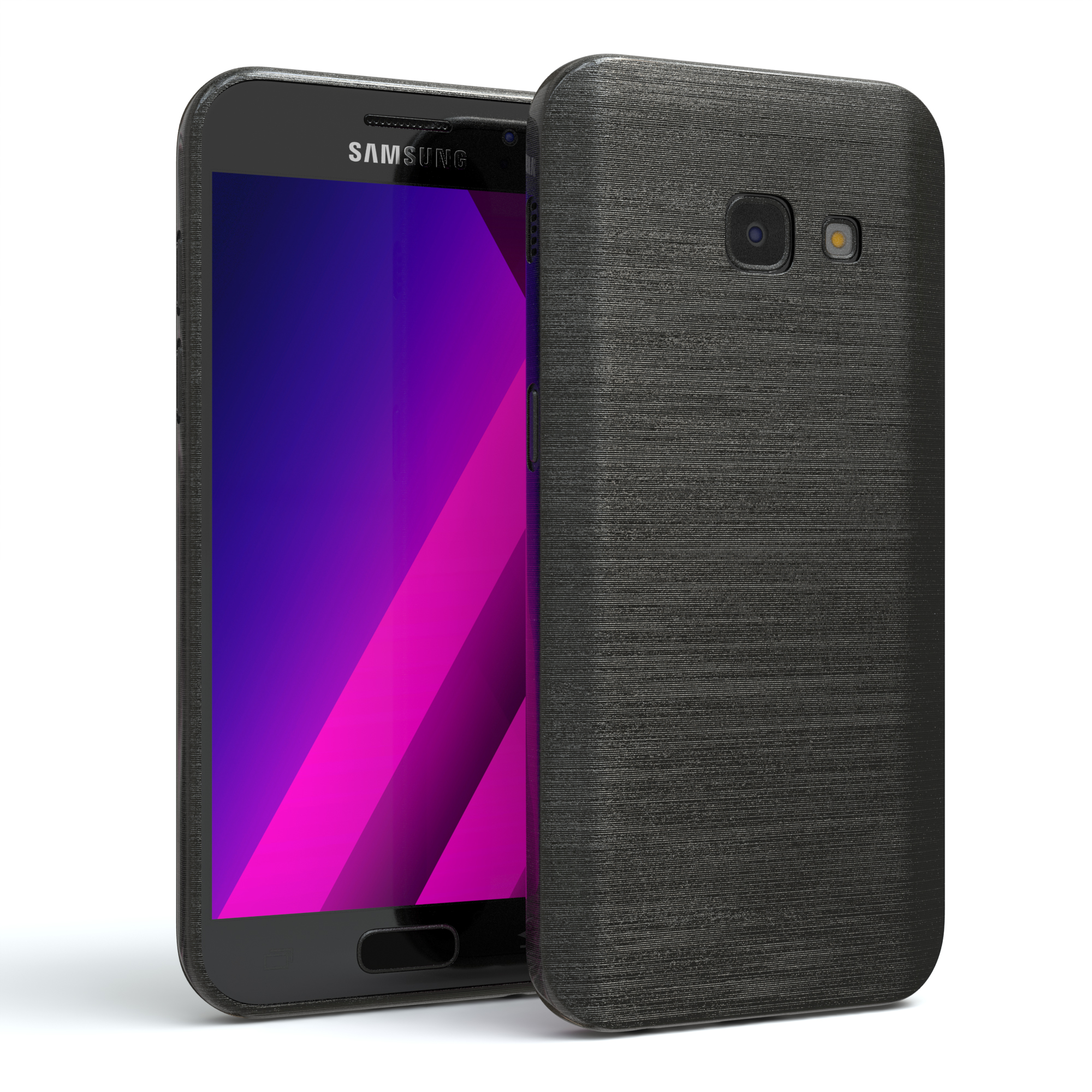 schutz h lle f r samsung galaxy a3 2017 brushed cover. Black Bedroom Furniture Sets. Home Design Ideas