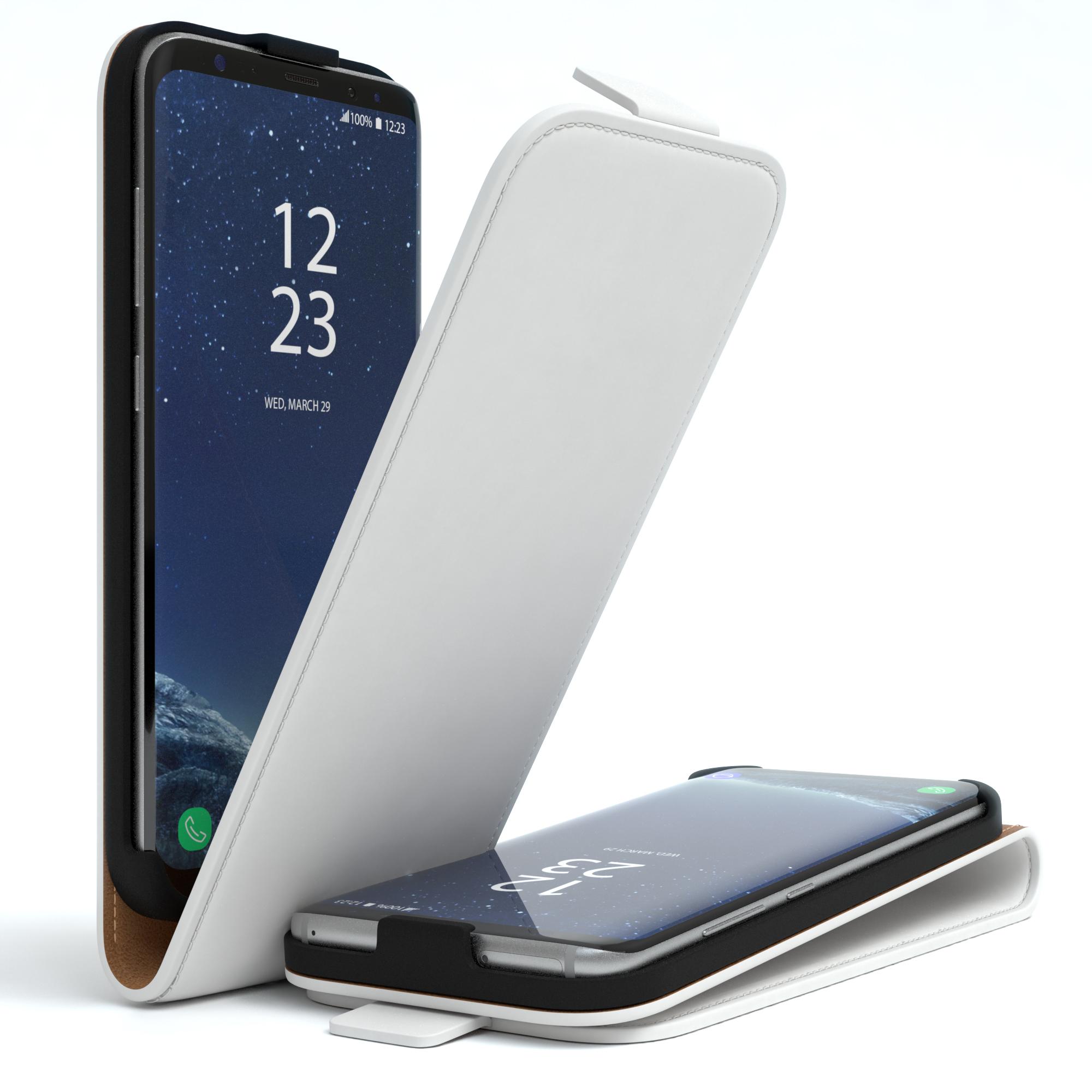 Handy-Tasche-fuer-Samsung-Flip-Case-Cover-Schutz-Huelle-Etui-Wallet-Kunst-Leder