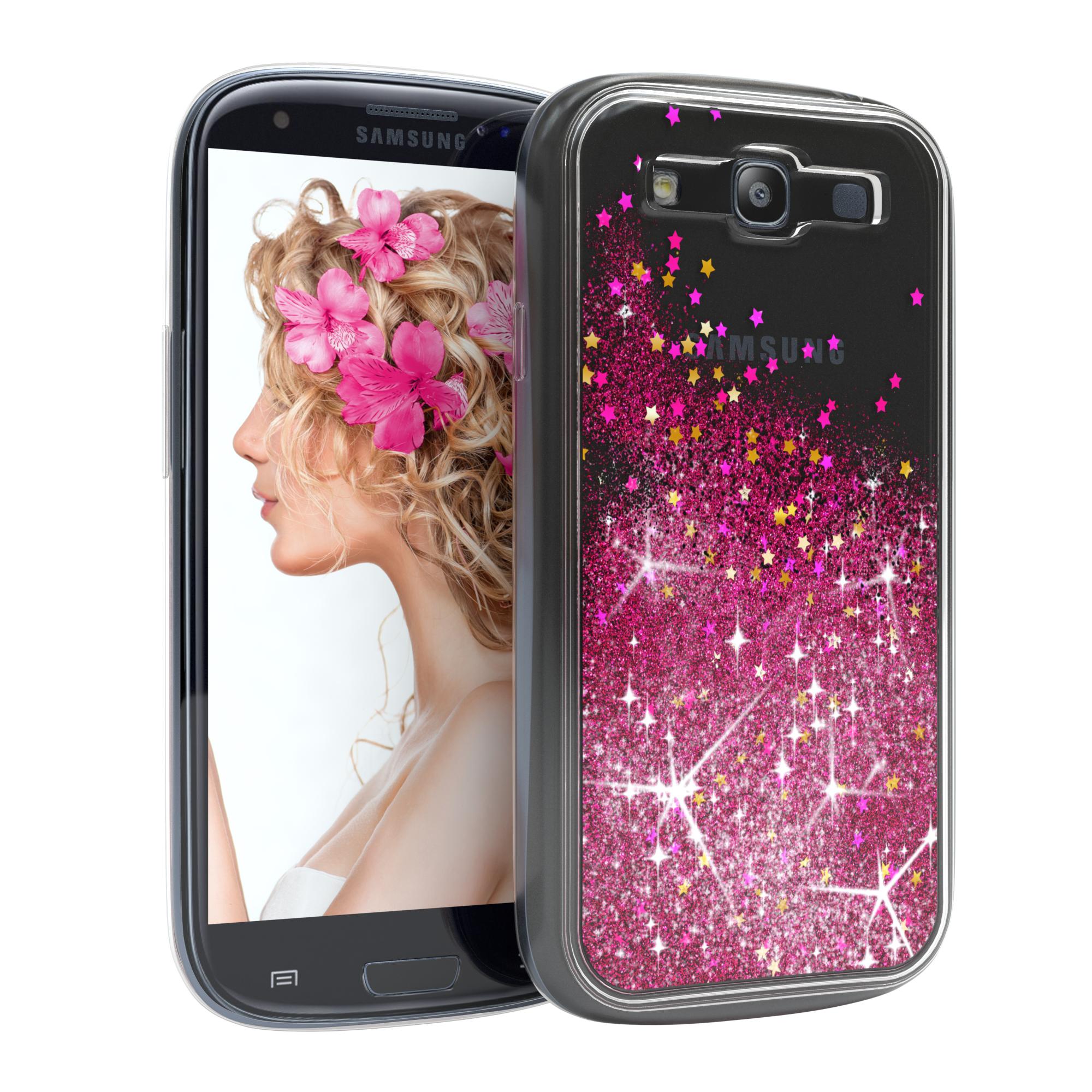 Handyhülle Samsung Galaxy : schutz h lle f samsung galaxy s3 neo liquid glitzer cover handy case pink ebay ~ Aude.kayakingforconservation.com Haus und Dekorationen