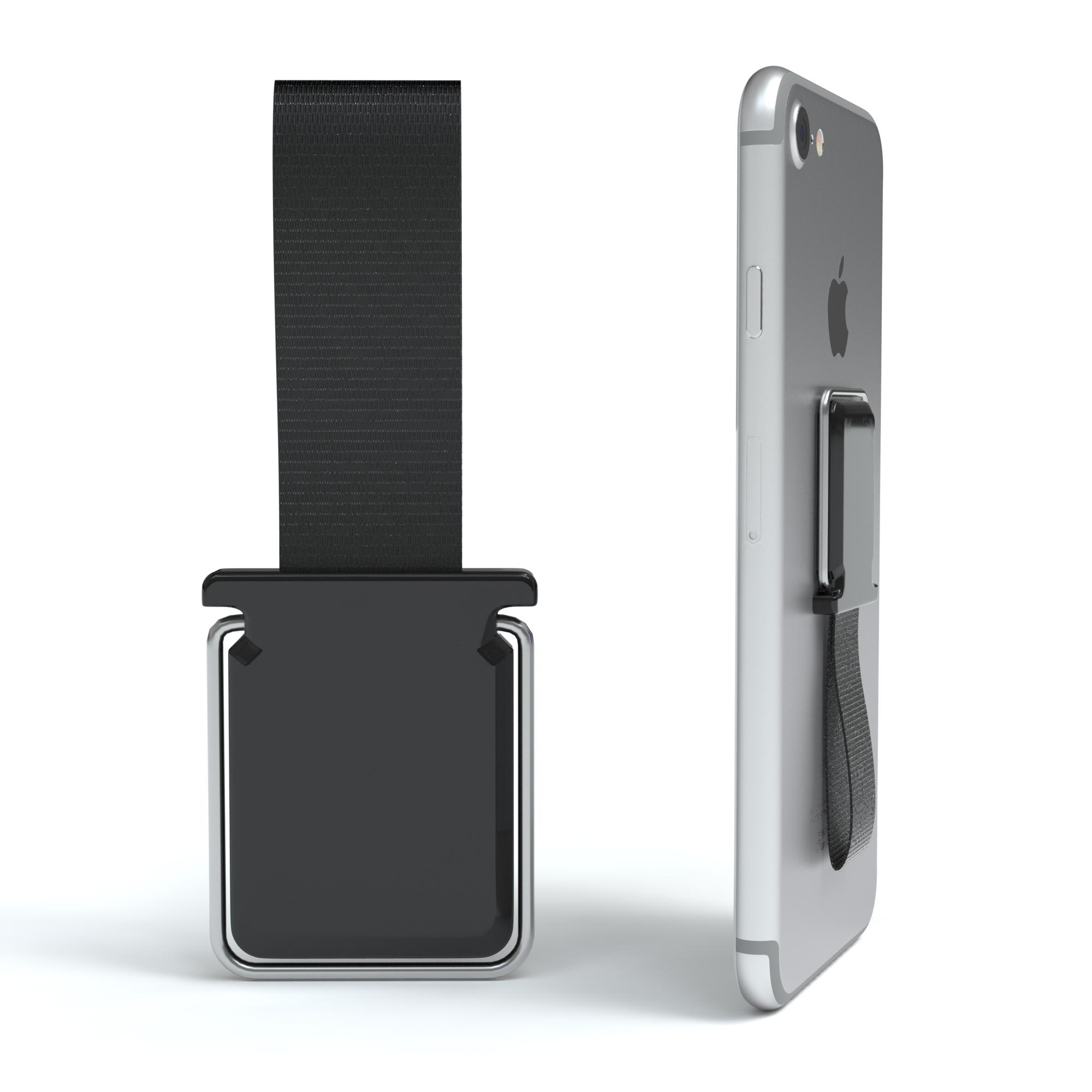 finger halterung handy 2in1 standfunktion fingerschlaufe. Black Bedroom Furniture Sets. Home Design Ideas