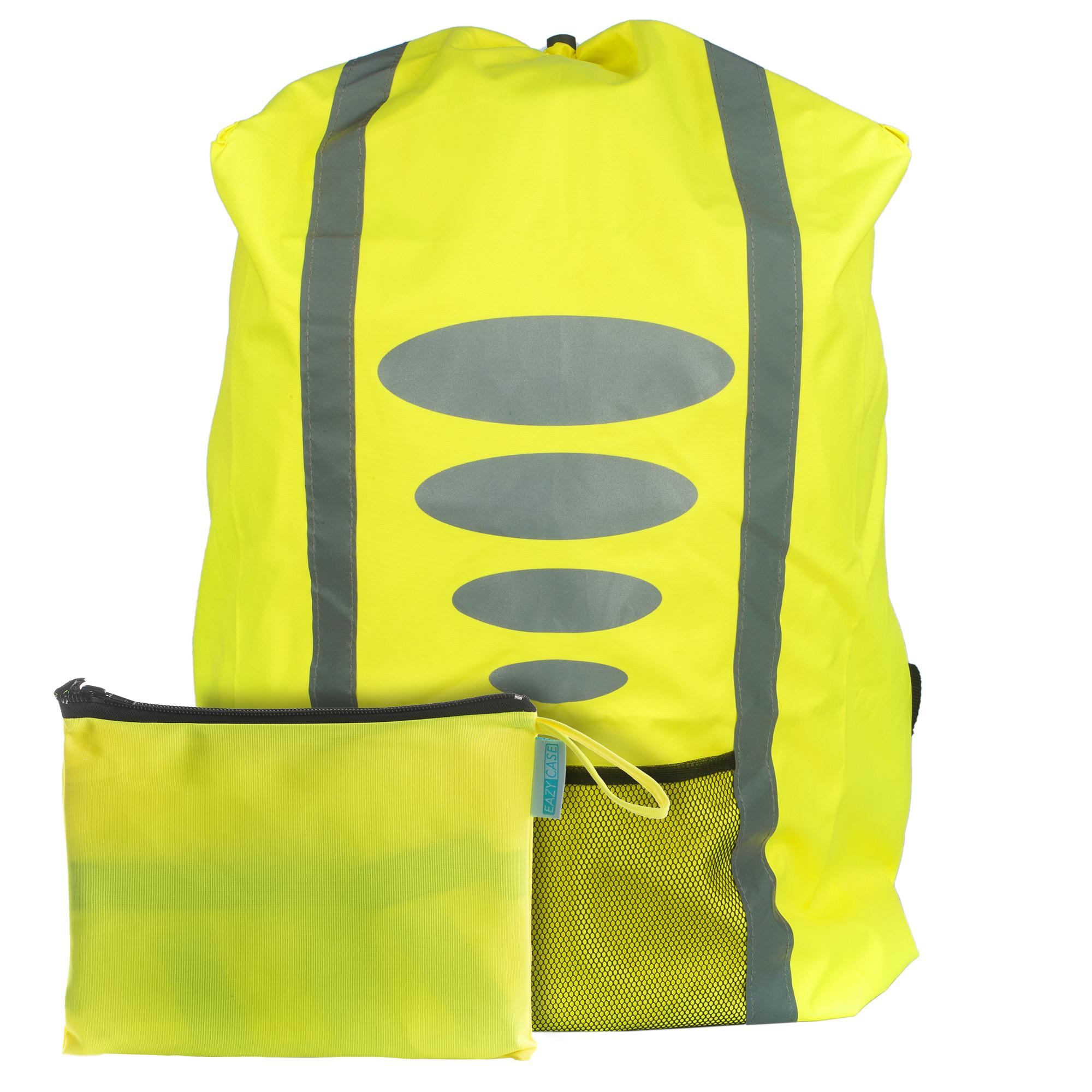 Regenschutz für Schulranzen Rucksack Schutzhülle Reflektor Überzug m
