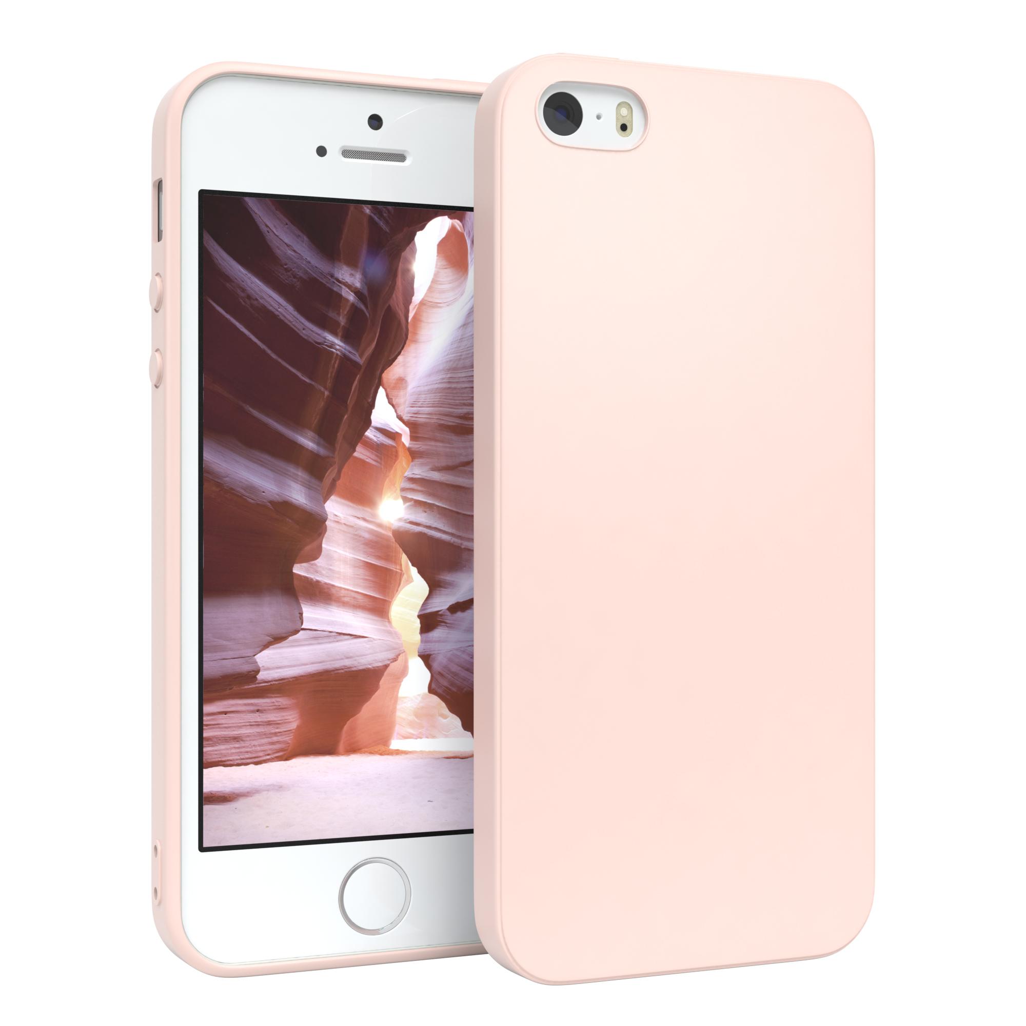 Handyhuelle-fuer-Apple-iPhone-SE-5-5S-Huelle-Tasche-Silikon-Backcover-Case-Cover Indexbild 10