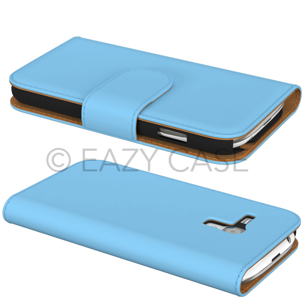 Samsung-Galaxy-S3-Mini-i8190-Leder-Tasche-Flip-Case-Schutz-Huelle-Handy-Cover