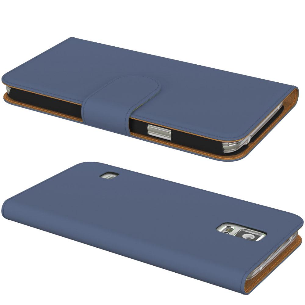 handy tasche f r samsung galaxy flip cover case schutz. Black Bedroom Furniture Sets. Home Design Ideas