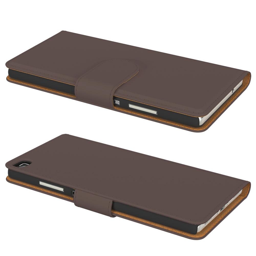 handy tasche f r huawei flip case cover schutz h lle etui schale bumper wallet ebay. Black Bedroom Furniture Sets. Home Design Ideas