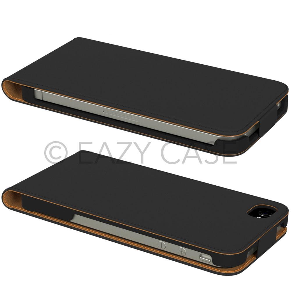 iPhone-4-4S-Tasche-Flip-Case-Handy-Cover-Schutz-Huelle-Klapp-Etui-Schale-Bumper